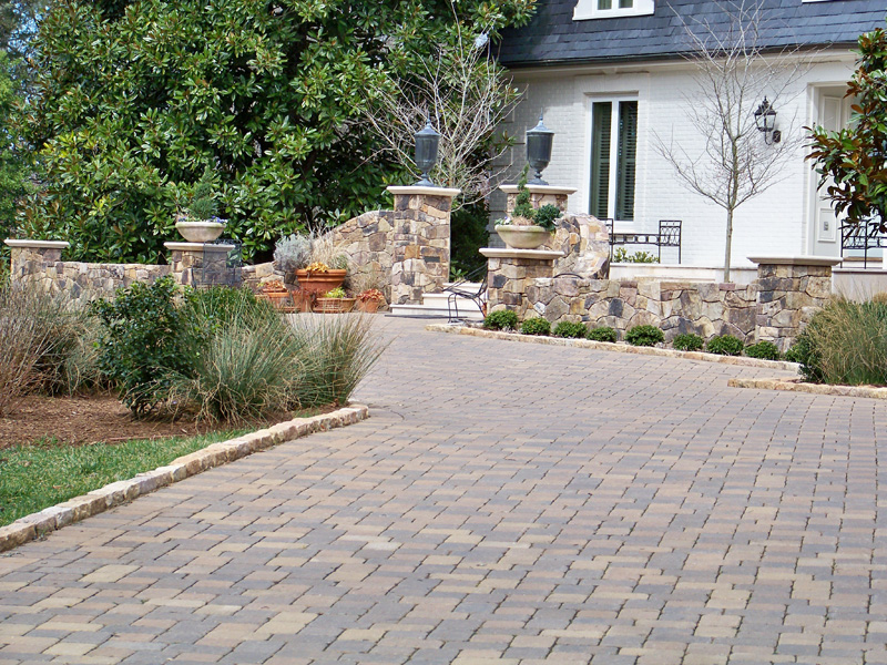 Driveway Edging Curb Appeal