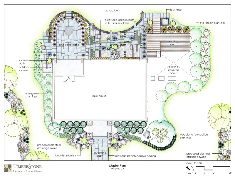 Landscape design master planning for Master landscape home design pro