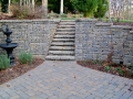 Versa - Lok segmental retaining wall and stairs